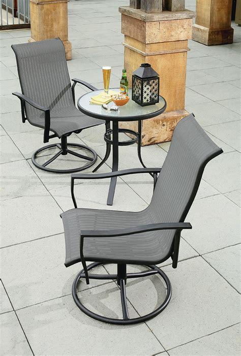 Numark Industries Patio Furniture Small Bistro Set