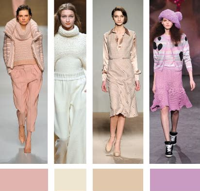 Summer 08 Trends On The Catwalk trending colors for fall and winter 2013 2014 color me