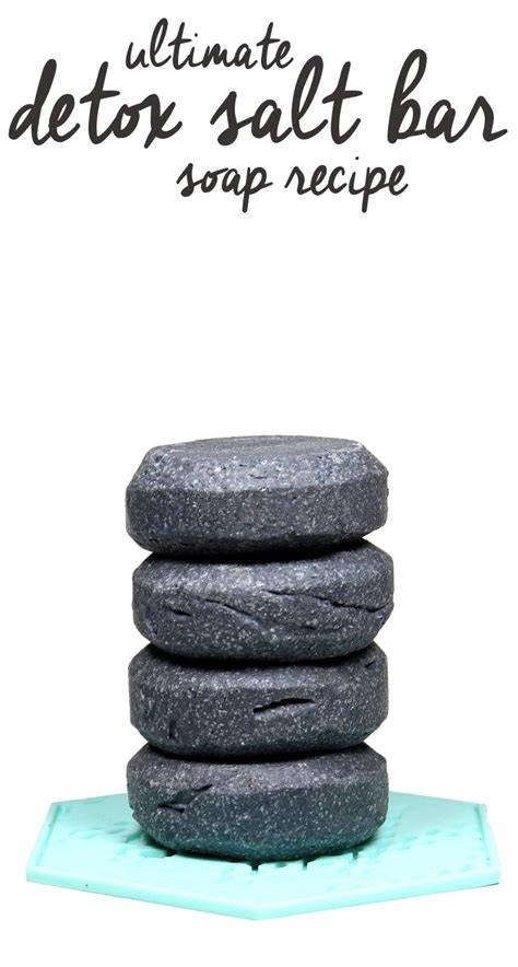 Detox Bath With Activated Charcoal by Ultimate Detox Salt Bar Recipe With Activated Charcoal