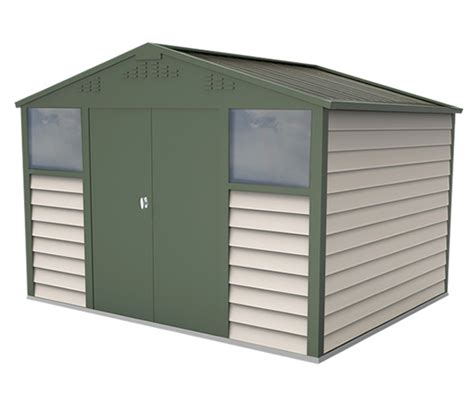 Aluminium Sheds Uk by Bike Sheds And Metal Garden Storage Units From Trimetals Uk