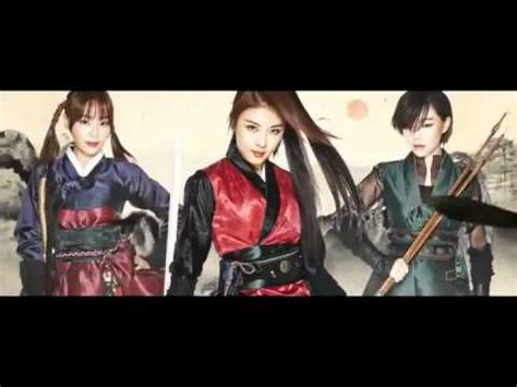 film fantasy korea 2014 the huntresses 조선미녀 삼총사 trailer korean action drama