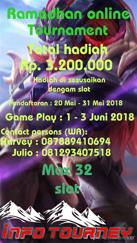 turnamen mobile legends rahmadhan
