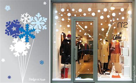 Decoration De Noel Pour Vitrine Magasin by Idee Decoration Vitrine Magasin Noel