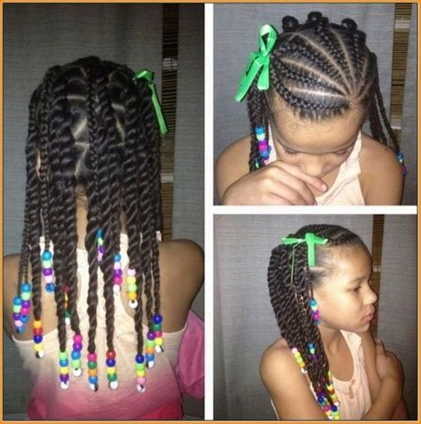 girl hairstyles with beads cool little girl hairstyles with braids and beads