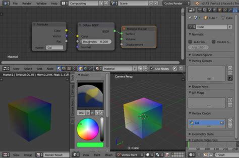 shaders for sverchok 02 vertex colors look think make