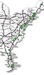 us map of interstate 95 i95 map 08