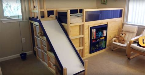 best bunk beds in the world uses ikea hack to make amazing loft bed for