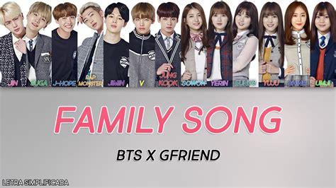 bts x gfriend como cantar family song bts x gfriend letra