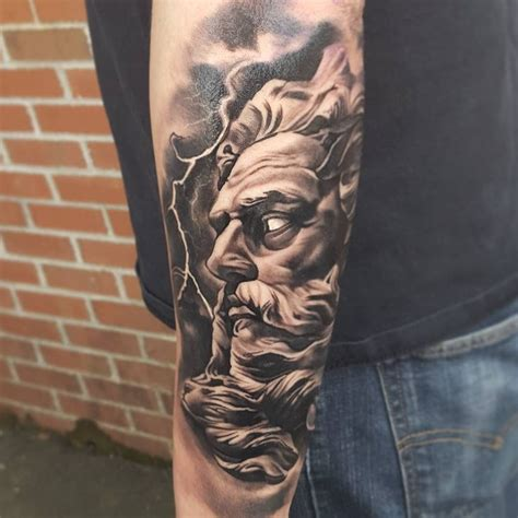zeus tattoo 1 032 likes 32 comments malek tylermalek on