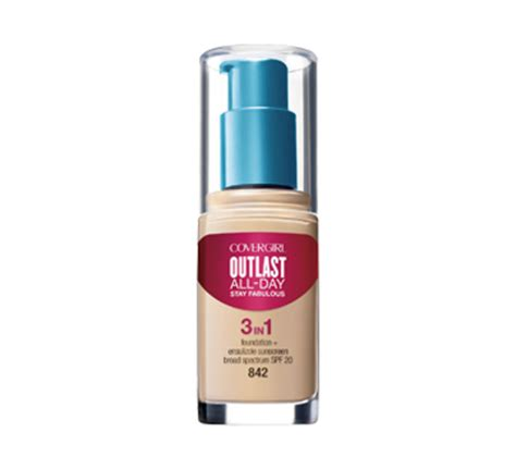 Covergirl Outlast Foundation outlast stay fabulous 3 in 1 foundation 30 ml covergirl
