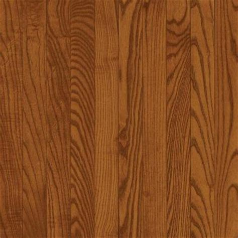 Home Depot Solid Hardwood Flooring by Bruce Oak Gunstock 3 4 In Thick X 5 In Wide X Random