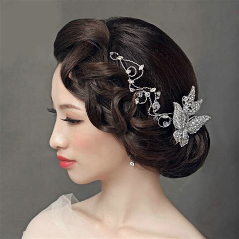 Wedding Hair Accessories Direct by Buy Wholesale Luxury Wedding Headdress Jewelry Butterfly