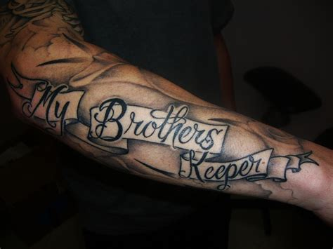 brothers keeper tattoo 19 my brothers keeper with powerful meanings