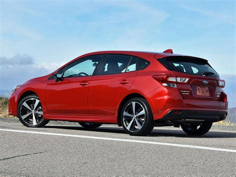2017 subaru impreza hatchback red first drive 2017 subaru impreza ny daily news
