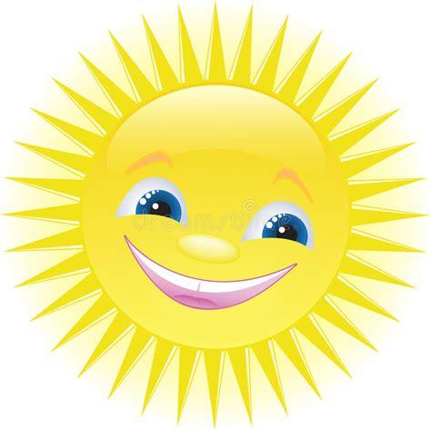 clipart divertenti sorridere divertente sole fumetto illustrazione