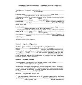 Sales Agreement Template Word by 11 Sales Agreement Templates Free Sle Exle