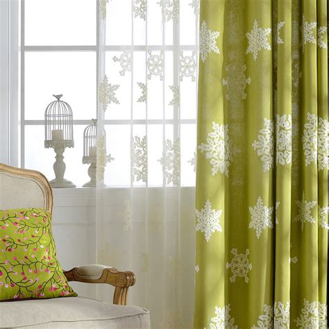 girl window curtains beautiful embroidery green girls window curtains
