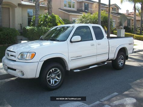2003 toyota tundra trd limited 4x4 truck int towing pkg