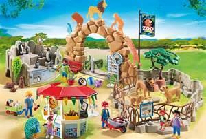 playmobil large city zoo toys
