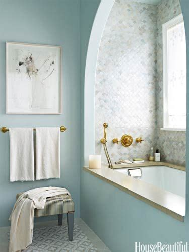 blue bathroom decor ideas bathroom decor ideas bath with blue walls and tile