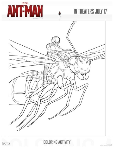 free marvel ant man printable coloring page mama likes this