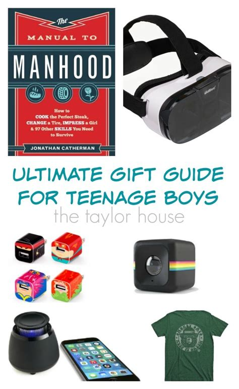 gifts for teenage boys the taylor house