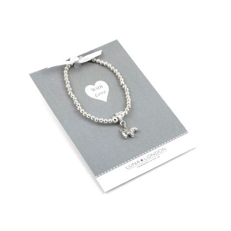 Smart Gift Cards - bee bracelet on pewter tone seed beads on new smart gift card
