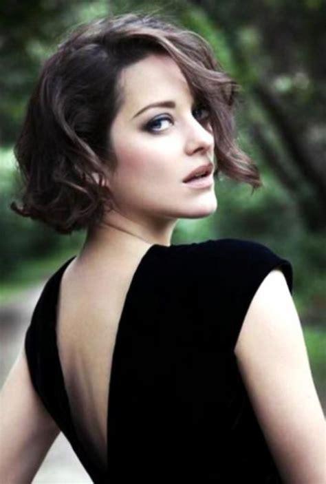 french actress with short hair marion cotillard marion cotillard pinterest