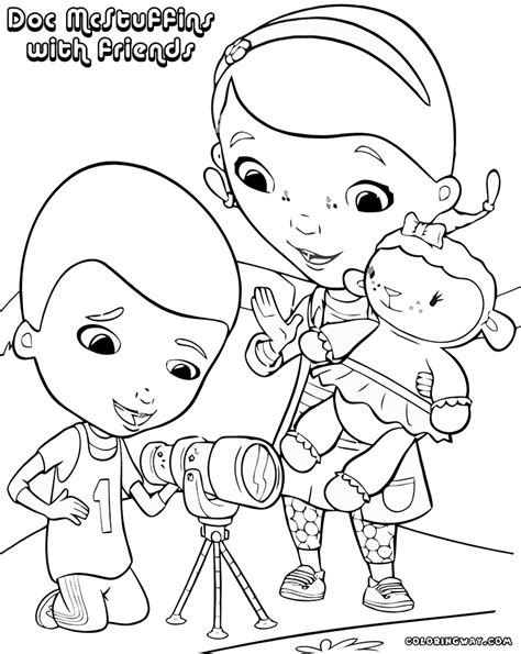 doc mcstuffins coloring page doc mcstuffins coloring pages coloring pages to