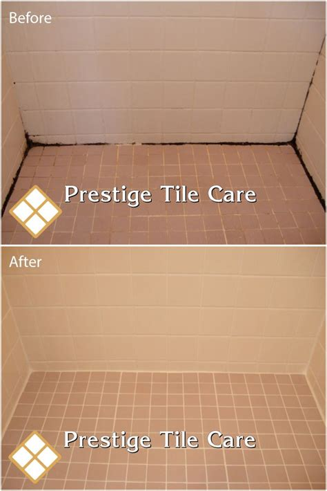 Cleaning shower, regrouting shower floor and recaulking