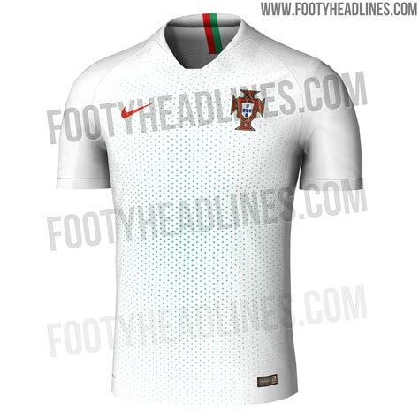 portugal 2018 world cup away kit leaked footy headlines