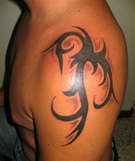 simple tribal tattoos for men 61 tribal shoulder tattoos