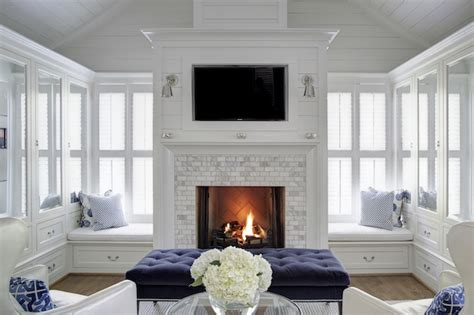 seating in front of fireplace bedroom fireplace with built in window seats