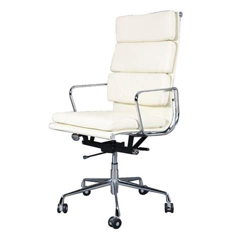 eames soft pad chair ebay eames ea219 office chair replica leather soft pad computer