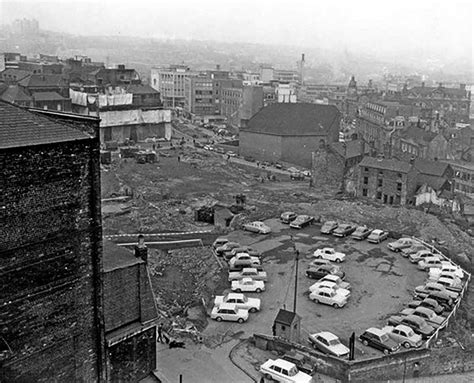 www history photo before the crucible theatre was built in sheffield