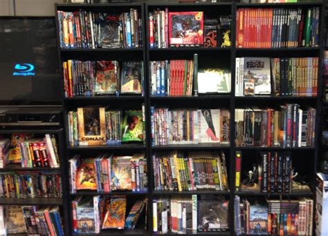 comic book shelves comics twin suns comic books game center