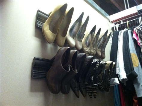 diy high heel shoe rack 17 best images about diy shoe storage on