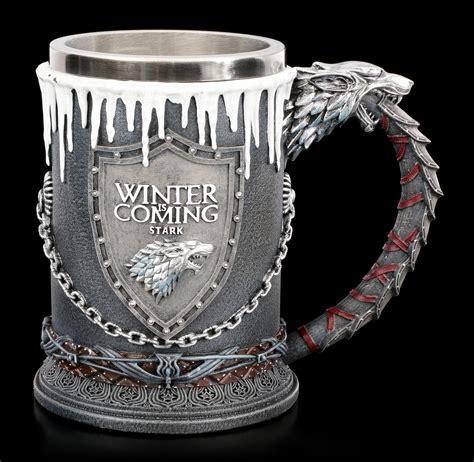 haus stark of thrones krug haus stark www figuren shop de