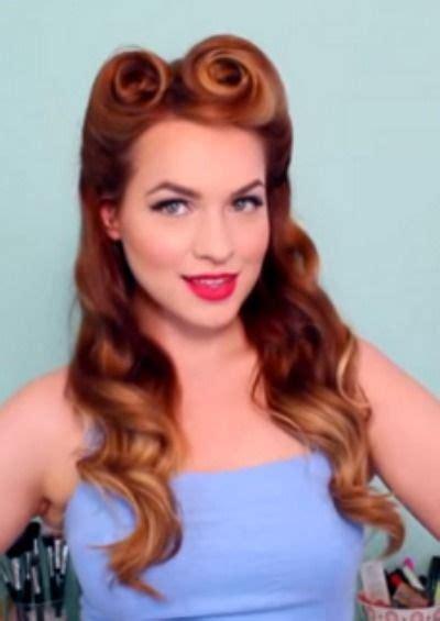 easy vintage hairstyles best 25 1950s hair ideas on pinterest