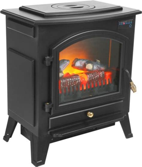 black friday electric fireplace heater with remote cyber