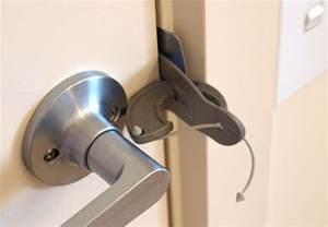 portable door lock to keep explorers safe