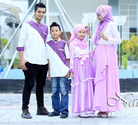 Baju Muslim Keluarga Untuk Lebaran 30 Model Baju Muslim Seragam Keluarga Untuk Lebaran 2018