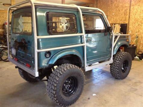 Suzuki Samurai Build Purchase Used Suzuki Samurai Tintop Built For Trail And