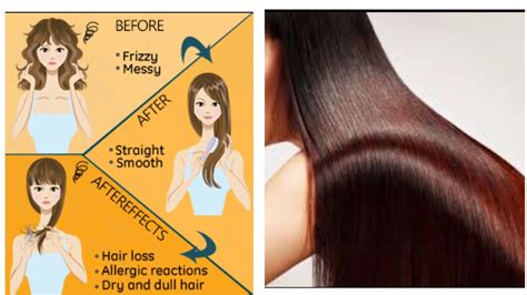 Side Effects Of Hair Dryer On Hairs hair rebounding hair straightening side effects nidhi