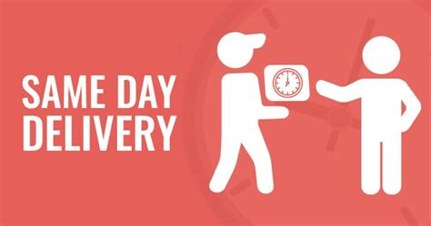 day delivery e commerce trend same day delivery helps you to relish