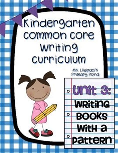 writing pattern books kindergarten 15 best pattern books kindergarten images on pinterest
