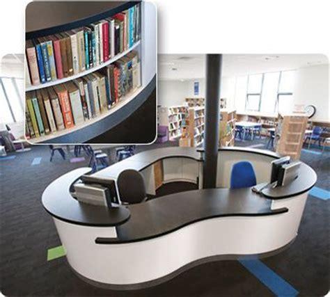 library reception desk circulation desks information environments