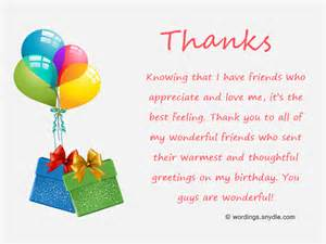 birthday thanksgiving speech how to say thank you for birthday wishes wordings and