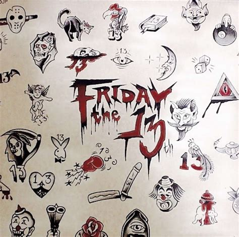 friday the 13 tattoos get inked this friday the 13th sfgate