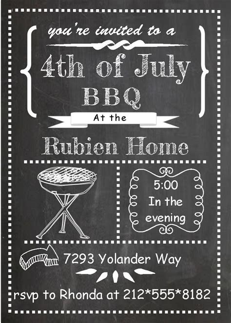 Barbecue Party Invitations  BBQ invitations NEW selections